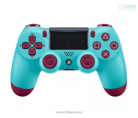 دسته PS4 DualShock 4 طرح Berry Blue